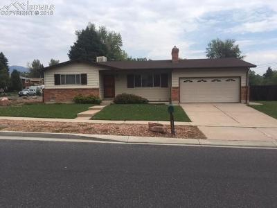 Colorado Springs Single Family Home For Sale: 710 Holland Park Boulevard