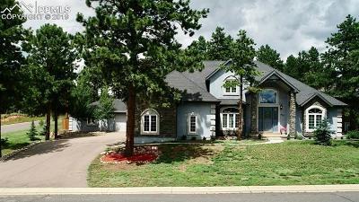Woodland Park Single Family Home For Sale: 405 Fairfield Lane