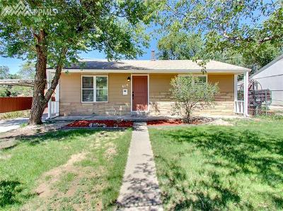 Colorado Springs Single Family Home Under Contract - Showing: 618 Manitoba Drive