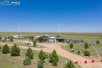 El Paso County Single Family Home For Sale: 28360 Judge Orr Road