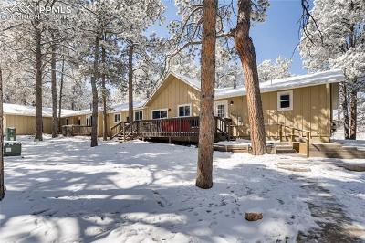 Colorado Springs Single Family Home For Sale: 8845 Shoup Road