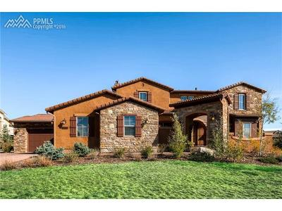 El Paso County Single Family Home For Sale: 9891 Highland Glen Place