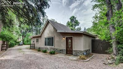 Colorado Springs Residential Income For Sale: 307 1/2 W Cheyenne Road