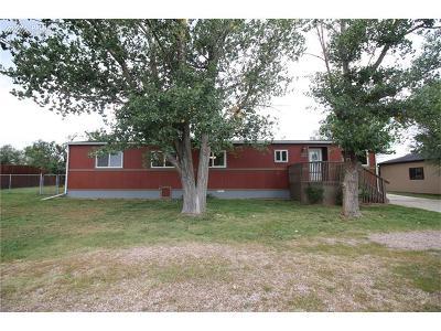 Calhan Single Family Home For Sale: 315 Cheyenne Street