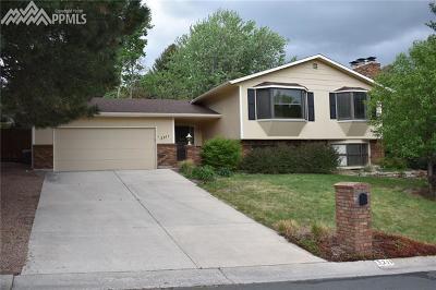 Colorado Springs Single Family Home For Sale: 3211 Austin Drive
