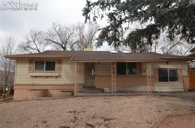 El Paso County Single Family Home For Sale: 2914 Del Mar Circle