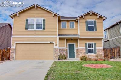 Colorado Springs Single Family Home For Sale: 3683 Winter Sun Drive