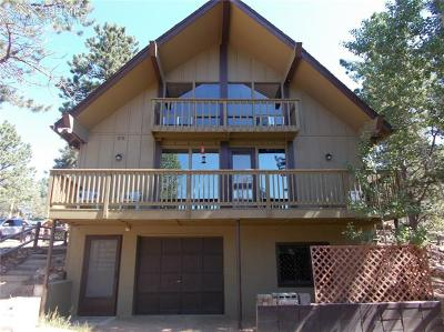 Woodland Park Single Family Home For Sale: 91 Alpine Road