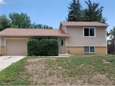Colorado Springs Single Family Home For Sale: 2433 W Anjelina Circle