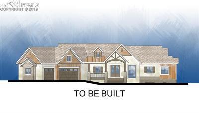 Colorado Springs Single Family Home For Sale: 14175 Gleneagle Drive