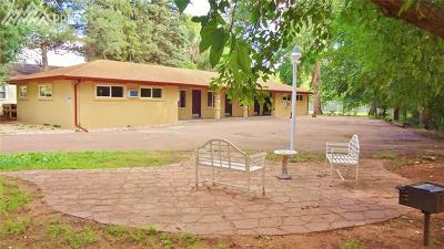 Manitou Springs Multi Family Home For Sale: 110 El Paso Boulevard