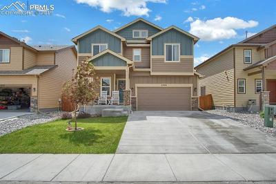 Colorado Springs Single Family Home For Sale: 6206 Wild Turkey Drive