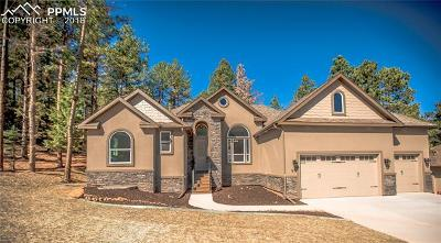Woodland Park Single Family Home For Sale: 1210 Cottontail Trail