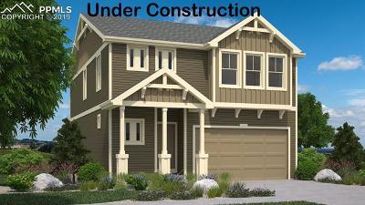 El Paso County Single Family Home For Sale: 7186 Sagerock Lane