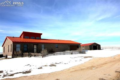 Calhan Single Family Home For Sale: 41470 Hoot Owl Road
