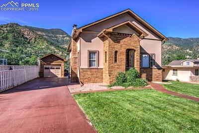 Manitou Springs Single Family Home For Sale: 28 Washington Avenue