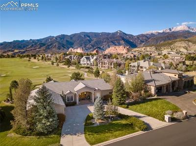 Colorado Springs Single Family Home Under Contract - Showing: 3775 Hill Circle