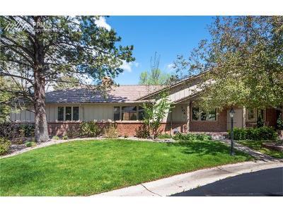 El Paso County Condo/Townhouse For Sale: 104 Miramar Drive