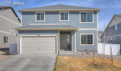 Fountain Single Family Home For Sale: 7830 Whistlestop Lane