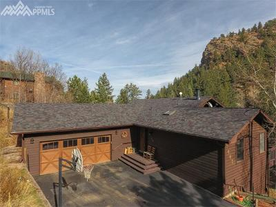 Manitou Springs Single Family Home For Sale: 1445 Sutherland Creek Road