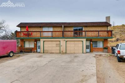 Old Colorado City Multi Family Home For Sale: 620-622 Manitou Boulevard