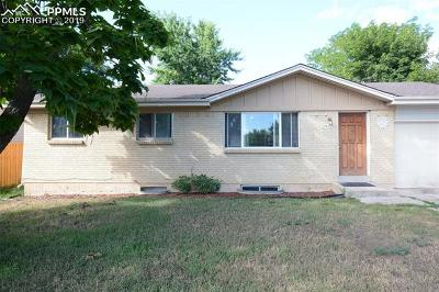 Colorado Springs Single Family Home For Sale: 2542 San Marcos Drive