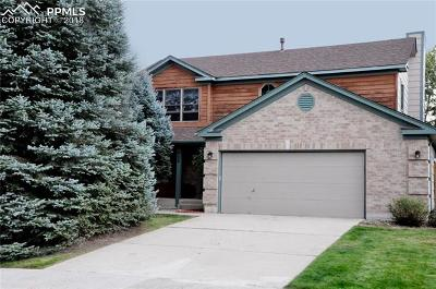 Colorado Springs Single Family Home For Sale: 625 Robinglen Court