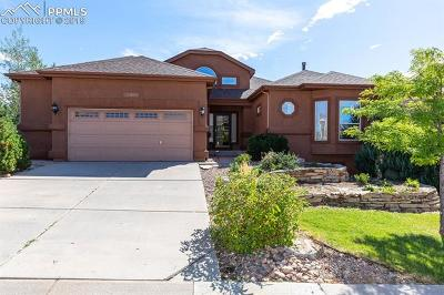 Colorado Springs Single Family Home For Sale: 12695 Woodmont Drive