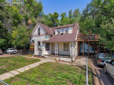 Colorado Springs Single Family Home For Sale: 126 E Brookside Street