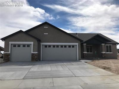 Peyton, Falcon Single Family Home For Sale: 12735 Clark Peak Court