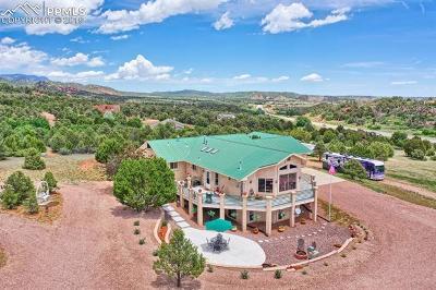 Colorado Springs Single Family Home For Sale: 15645 Rancho Pavo Drive