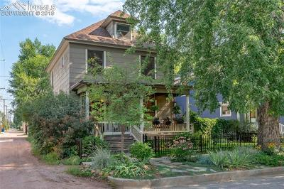 Colorado Springs Single Family Home For Sale: 118 E Washington Street