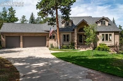 Monument Single Family Home For Sale: 18910 Cypress Point