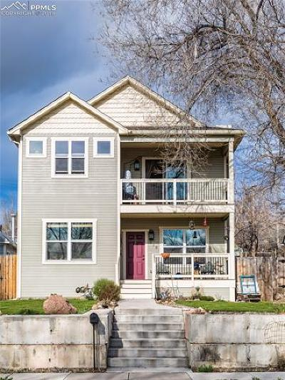 Colorado Springs Single Family Home For Sale: 218 N 7th Street