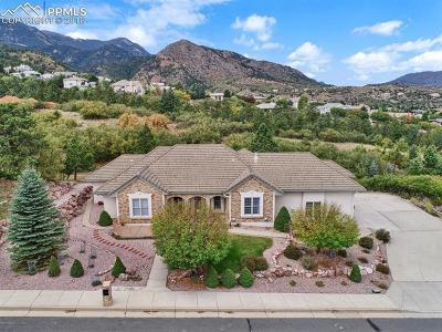 Colorado Springs Single Family Home For Sale: 580 Vista Grande Drive