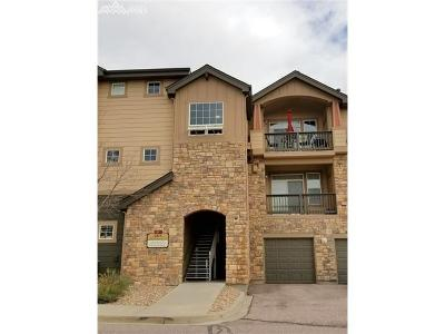 Colorado Springs Condo/Townhouse For Sale: 6315 Andersen Mill Heights #206