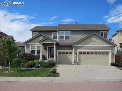 Colorado Springs Single Family Home For Sale: 14632 Air Garden Lane