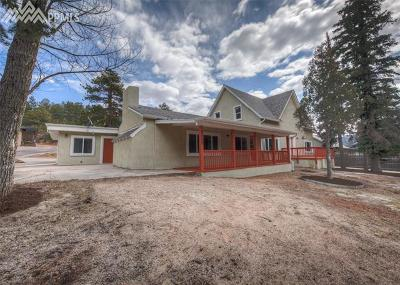 Cascade Single Family Home For Sale: 8040 W Highway 24 Highway