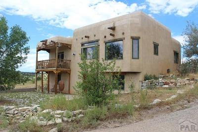 Pueblo Single Family Home For Sale: 2640 Canyon Heights Rd