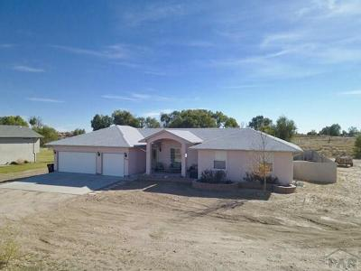 Pueblo Single Family Home For Sale: 35298 Hidden Mesa Dr