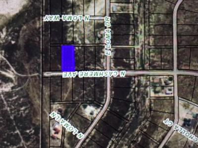 Residential Lots & Land For Sale: 1786 N Cashmere Ave