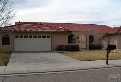Pueblo Single Family Home For Sale: 1412 Aquila Dr