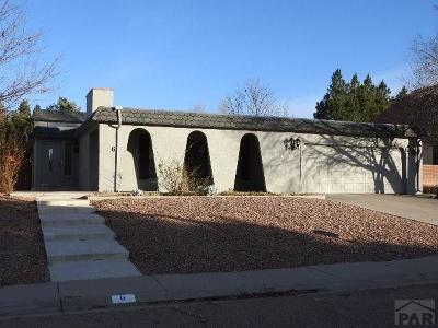 Pueblo Single Family Home For Sale: 6 Rockbridge Lane