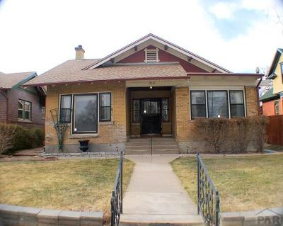 Pueblo Single Family Home For Sale: 2019 Greenwood St