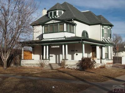 Pueblo Single Family Home For Sale: 1014 Lake Ave