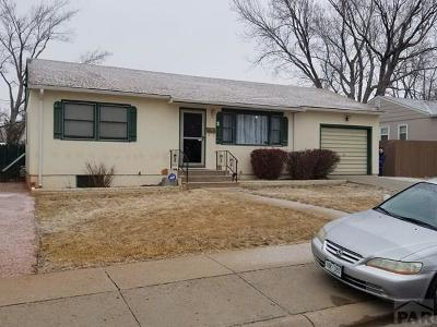 Pueblo Single Family Home For Sale: 1327 Alexander Circle