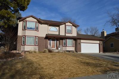 Pueblo Single Family Home For Sale: 4612 Cedarweed Blvd