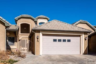 Pueblo Single Family Home For Sale: 28 Aberdeen Bluff #28