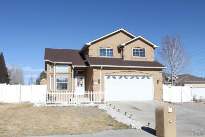 Pueblo Single Family Home For Sale: 4764 Goldfinch
