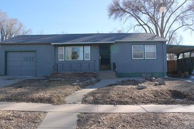 Pueblo Single Family Home For Sale: 1633 Horseshoe Dr